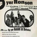 Graeme Park Up Yer Ronson 1ST Birthday