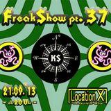 Crack & Acid (Live PA) @ FreakShow pt. 37 - Anne Ecke Kassel - 21.09.2013
