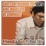 King Waggy Tee vs Downbeat The Ruler