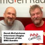 Derek McCutcheon interviews Duglas T Stewart of the BMX Bandits, 16 May 2017