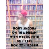March 28, 2015 Radio Show: Romy Ancona & Mystic Pete on 88.9FM KXLU