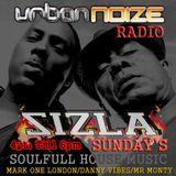 Sizla Sunday 4pm/6pm Urban Noize Radio