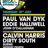 Calvin Harris - Live @ Cream Amnesia Ibiza (Spain) 2013.07.18.