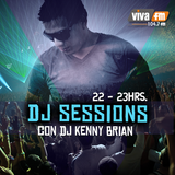 Kenny Brian @ Dj Sessions  VIVA FM 104.7 (Jueves 6 Junio 2014)