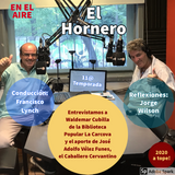 El Hornero - Programa del lunes 6 de abril de 2020 con Waldemar Cubilla - Biblioteca La Carcova