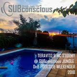 Teravito & MC Stormy @ SUBconscious Jungle DnB Poolside Weekender 2018