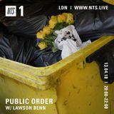 Public Order - 13th April 2018