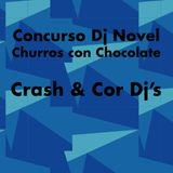 Concurso Dj Novel - Crash & Cor Dj's