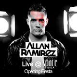 Allan Ramirez Podcast Live @ Space Ibiza Opening Fiesta 2012