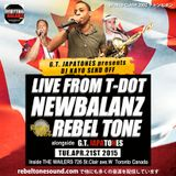 REBEL TONE SOUND LIVE at THE WAILERS Toronto APR.2015