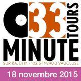 33TOURS/Min - Emission 18 novembre 2015