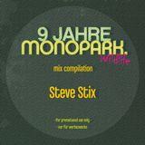 Steve Stix - 9 Jahre Monopark Promo Mix (CD Version)