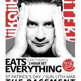 Eats Everything - Live @ The Basement,Strand Bar (UK) (17-03-2013)