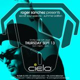 Roger Sanchez - Live @ Cielo (New York) - 13.09.2012