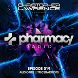 Pharmacy Radio 019 w/ guests Audiofire & Triceradrops