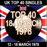 UK TOP 40 12-18 MARCH 1978