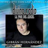 CANTA-AUTOR GIBRAN HERNANDEZ ENTREVISTA EN DIVINA RADIO LA VOZ EL ANGEL CONDUCE GUADALUPE DIVINA