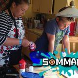 Emelie och Samuel gör matmuffins