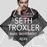 Seth Troxler - Live @ Palladium, Secret Society (Geneva, SUI) - 07.09.2016