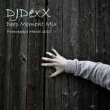 DJDexX-Deep moment mix (Promopeople March 2015)