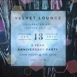 Joe Long - 3 Year Velvet Lounge Anniversary - Downtempo Set