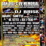 Dan Digi-C UV Memorial X-Treme Energy Event. DJ Mrcee B2B Moffit Melon Live