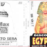 """Discoteca """" Egyptus """" (Busseto-PR) - 27 Novembre 1995"""