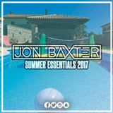 DJ Jon Baxter - Summer Essentials Mix 2017