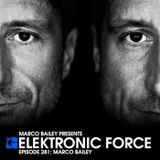 Elektronic Force Podcast 281 with Marco Bailey