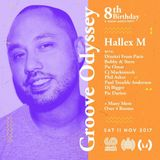 Hallex M Mix promo for Groove Odyssey Records, London (Nov 2017)