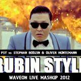 Psy Vs Stephan Bodzin & Oliver Huntemann - Rubin Style [WaveOn Live Mashup 2012]