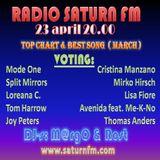 Radio Saturn FM - Top Chart (March) - DJ-s: M@rgO & Rost (23.04.2017) -2 part