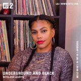 Underground & Black w/ Ash Lauryn - 9th January 2018
