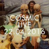 Cosmic Delights LIVE 01 - Jean Charles de Monte Carlo at Baby Boa 22.04.2016