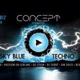 Promo Set Concept - Sky Blue - Techno Edition