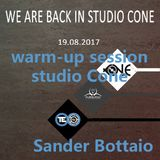 Warm-up session Studio Cone 19-8-2017