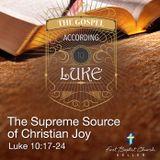 Supreme Source of Christian Joy_10-07-18