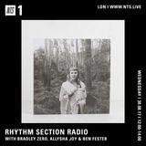 Rhythm Section w/ Bradley Zero, Allysha Joy & Ben Fester - 30th August 2017