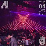 Jay5 Live @ Club AU (2016-04)