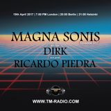 Ricardo Piedra - Guest Mix - MAGNA SONIS 017 (19th April 2017) on TM-Radio