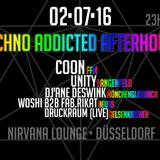 WOSHI b2b Fab.rikat - Techno ADDICTED 02.07.2016 @ Nirvana Lounge Düsseldorf
