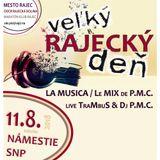 DJ PMC & Trambus live - Rajec Open Air (11-08-2018)