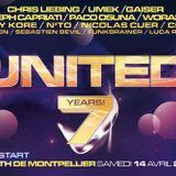 FUNKBRAINER Opening Dj Set @ UNITED 7 YEARS  ( ZENITH MONTPELLIER ) SAMEDI 14 AVRIL 2012