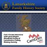 Cat's Cream interview with Elizabeth Irving from Lanarkshire Family History, 10 May 2017