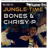 #7.  BONES & CHRISY-P JUNGLE TIME  Kane Fm 15.05.14