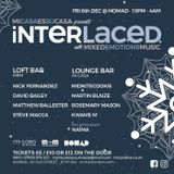 Interlaced Promo Mix by Nick Fernandez for Dec 2019