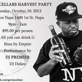 DJ Josh Dukes - G Wine Cellars Harvest Party Set with DJ Premier