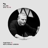 2013-12-13 - Function - Live @ Netil House, London (RA Live)
