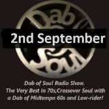 Dab of Soul Radio Show 2nd September 2019 - Top 5 from Nev Griffiths .