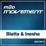Blatta & Inesha - m2o Movement Mixtape 20012013